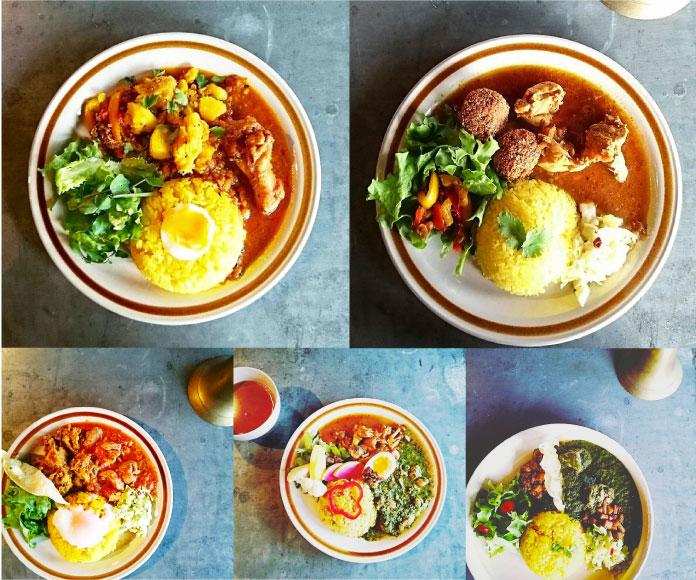 """ひと皿に""""甘味・辛味・酸味・苦味・塩味""""の五味がそろっていて、味、見た目のバランスともに計算されている(photo/海木渚 )"""