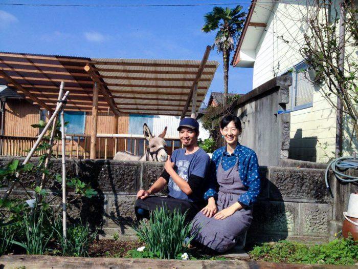 最後に、松元さん夫妻とハク、ハイチーズ!
