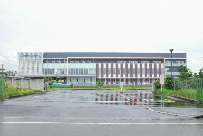 伊集院町で現在新設工事中の大型クリニック